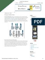 Avtur Blog_ Pressure Safety Valve