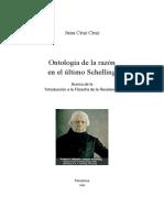 Cruz Cruz, J. - Ontología de la razón en el último Schelling. Acerca de la Introducción a la filosofía de la revelación (Pamplona, 1993).pdf