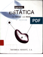 Mecanica para Ingenieros, Estatica (J.L Meriam) - 3° Edición.pdf