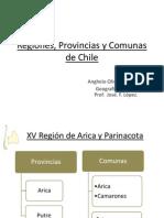 Regiones, Provincias y Comunas de Chile.pptx