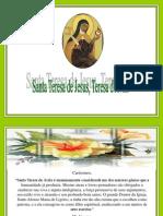Santa Teresa de Jesus Teresa dAvila.pps