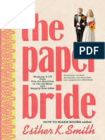 The Paper Bride by Esther K. Smith - Self Mailer Project