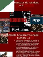 Top 13 Moustros de Resident Evil