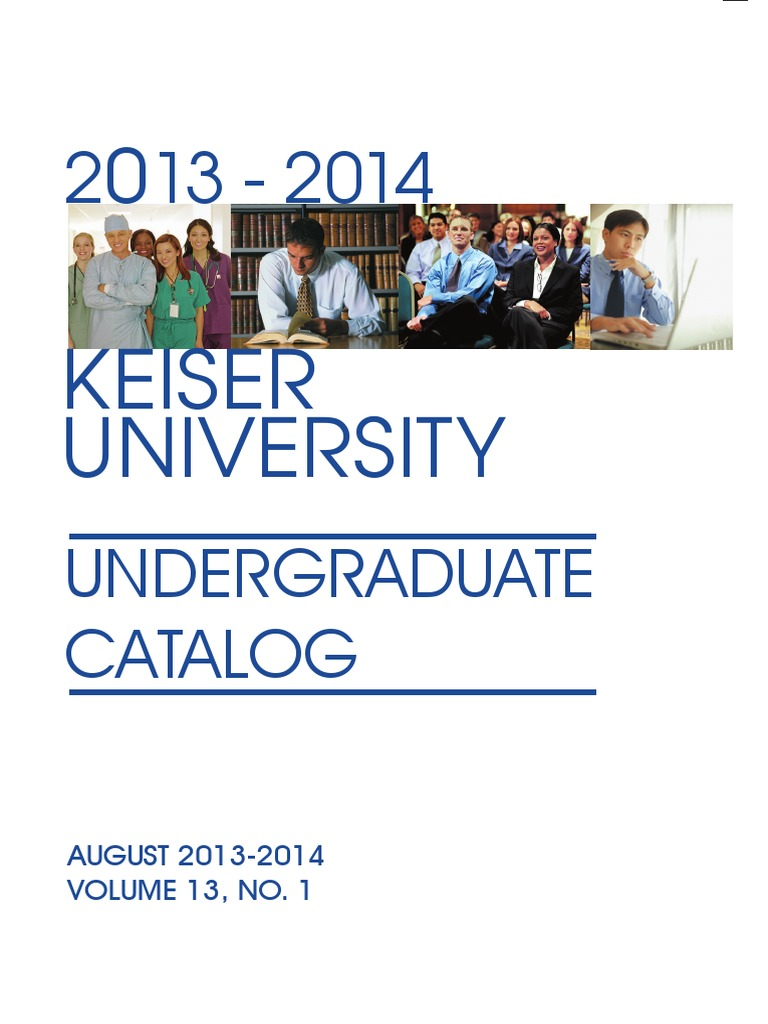 Keiser University Catalog.pdf | Florida | Disability