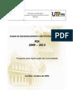 Plano de Desenvolvimento Institucional da UTFPR