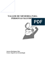 Taller de memoria para personas mayores. Curso Experto en Gerontología.doc
