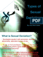 Types of Sexual Deviation Final
