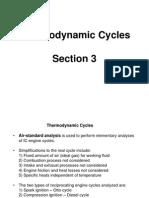 3. Thermodynamic Cycles