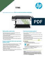 HPDJ T795 ePrinter