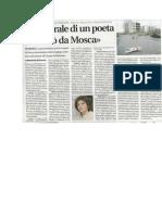 Il Funerale Di Un Poeta - Il Riformista 18 Dicembre 2009