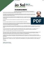Região Sul - SEM EDUCAÇÃO NÃO HÁ DESENVOLVIMENTO - António Grosso Correia