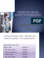 Report on Labour Market of Bangladesh
