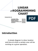 Linear Programmimng Chart