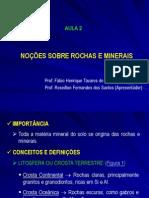 AULA 02_Noções Sobre Rochas e Minerais.ppt