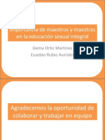 Importancia de maestros y maestras  en la educación FORM.ppt