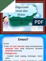Pengurusan Emosi Dan Stress