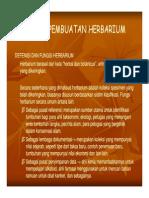Pab 212 Slide Teknik Pembuatan Herbarium