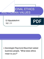 Professional Ethics and Human Values[1].Ppt 1