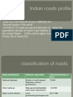Indian Roads Profile