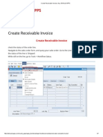 Create Receivable Invoice _ ALL ORACLE APPS