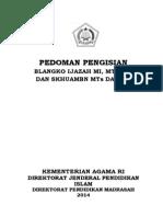 Pedoman Pengisian Ijazah & SKHUAMBN 2014