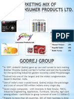 Marketing Mix of GCPL