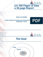 How to Turn 300 Pages of Data Into a 30-Page Report