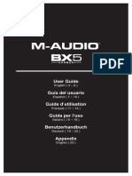 M-Audio BX5 Carbon - User Guide - V1.1
