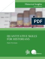 Freeman, Quantitative Skills for Historians
