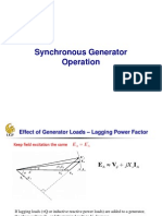 11 Synchronous Generator and Motor Operation