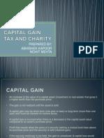 Capital Gain Tax and Charity