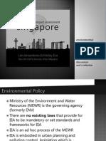 Environmental Impact Assessment in Singapore Jamadrones Eva 2014-09-16