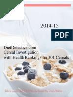 Cereal Investigation`