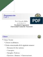 Clase Programación 1