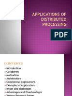 Distributed Processing Applications