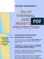 07 Thermal Moisture Prot