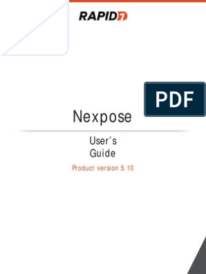Nexpose_User_Guide pdf   Command Line Interface   Login