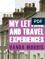 My Letting And Travel Experiences by Vanda Morris