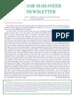 [11] AAR Mahaveer Newsletter July 2013