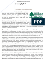 What's the Story on Learning Styles_ _ Faculty Focus - May 1, 2014