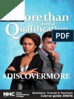 Business and Enterprise - Course Prospectus
