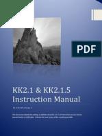 KK2.1.X Instruction Manual
