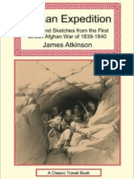 The Expedition Into Afghanistan (1842) by James Atkinson