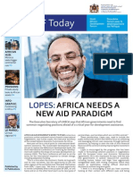 Ninth African Development Forum (ADF IX) Newsletter - October 13 2014