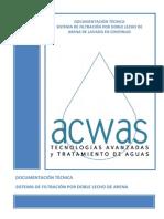 Documentación Técnica Acwas Filtros de Arena 2 Etapas.pdf