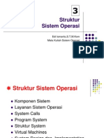 Sruktur Sistem Operasi