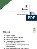 Proses dalam Sistem Operasi