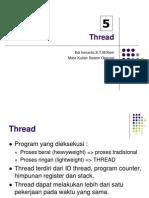 Thread dalam Sistem Operasi