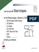 Structural Steel Design Lectures Presentation