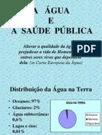A ÁGUA E A SAUDE PUBLICA.ppt